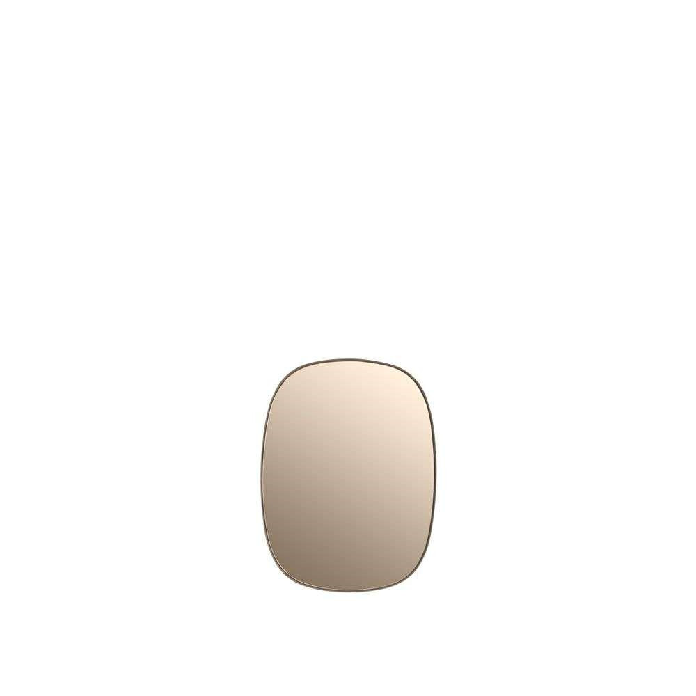 Image of Framed Mirror Small Rose/Rose Glass - Muuto (5710562219042)