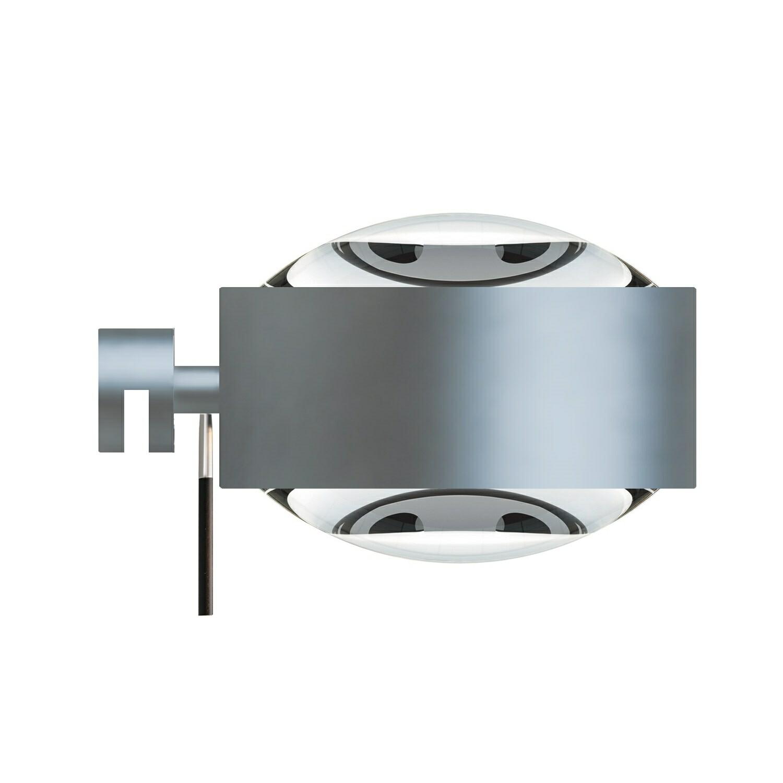 Puk Maxx Væglampe LED Lens + Lens Mat Krom – Top Light