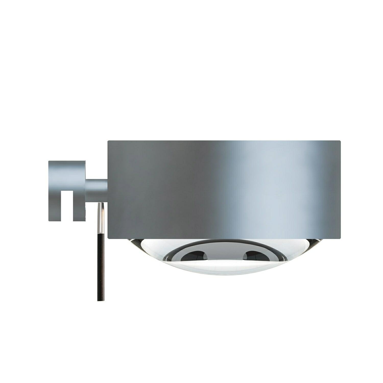 Puk Maxx Væglampe LED Lens + Glass Mat Krom – Top Light