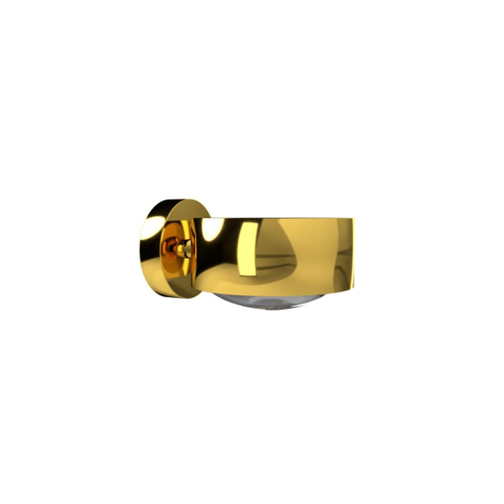 Puk Maxx Væglampe LED Lens + Glas Guld – Top Light