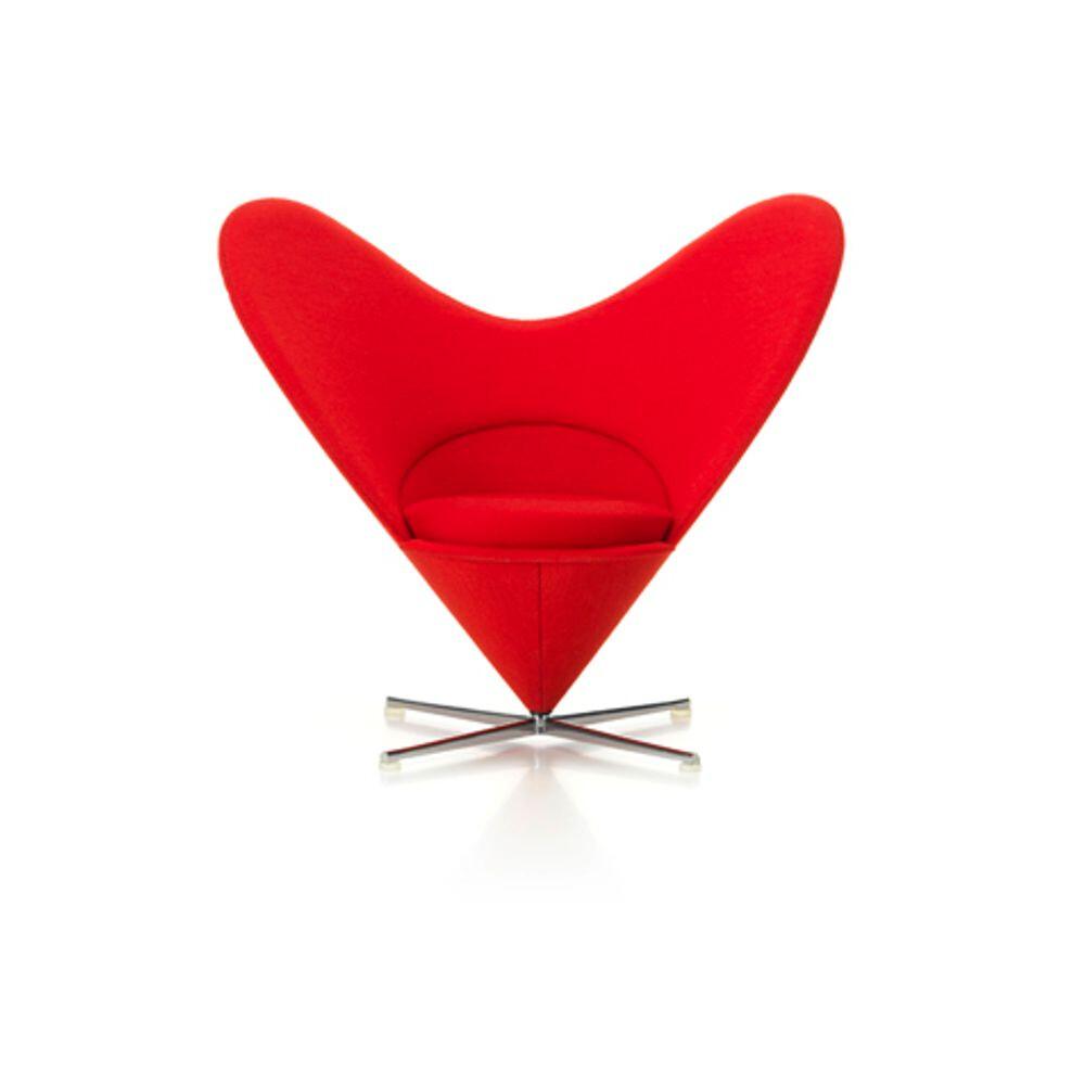Miniature Heart-Shaped Cone Chair - Vitra thumbnail
