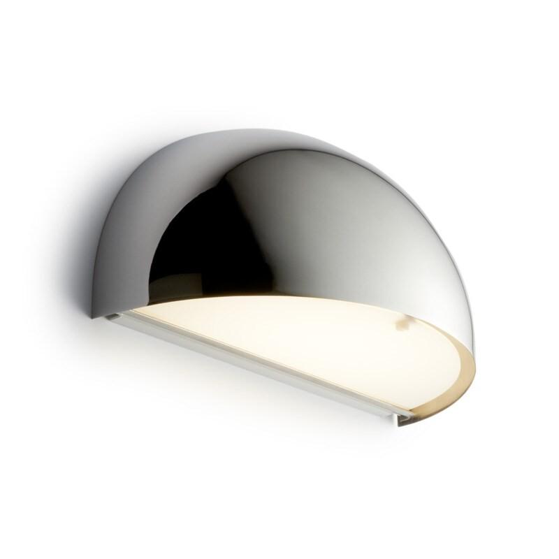 Rørhat Væglampe 10,5W LED Krom – LIGHT-POINT