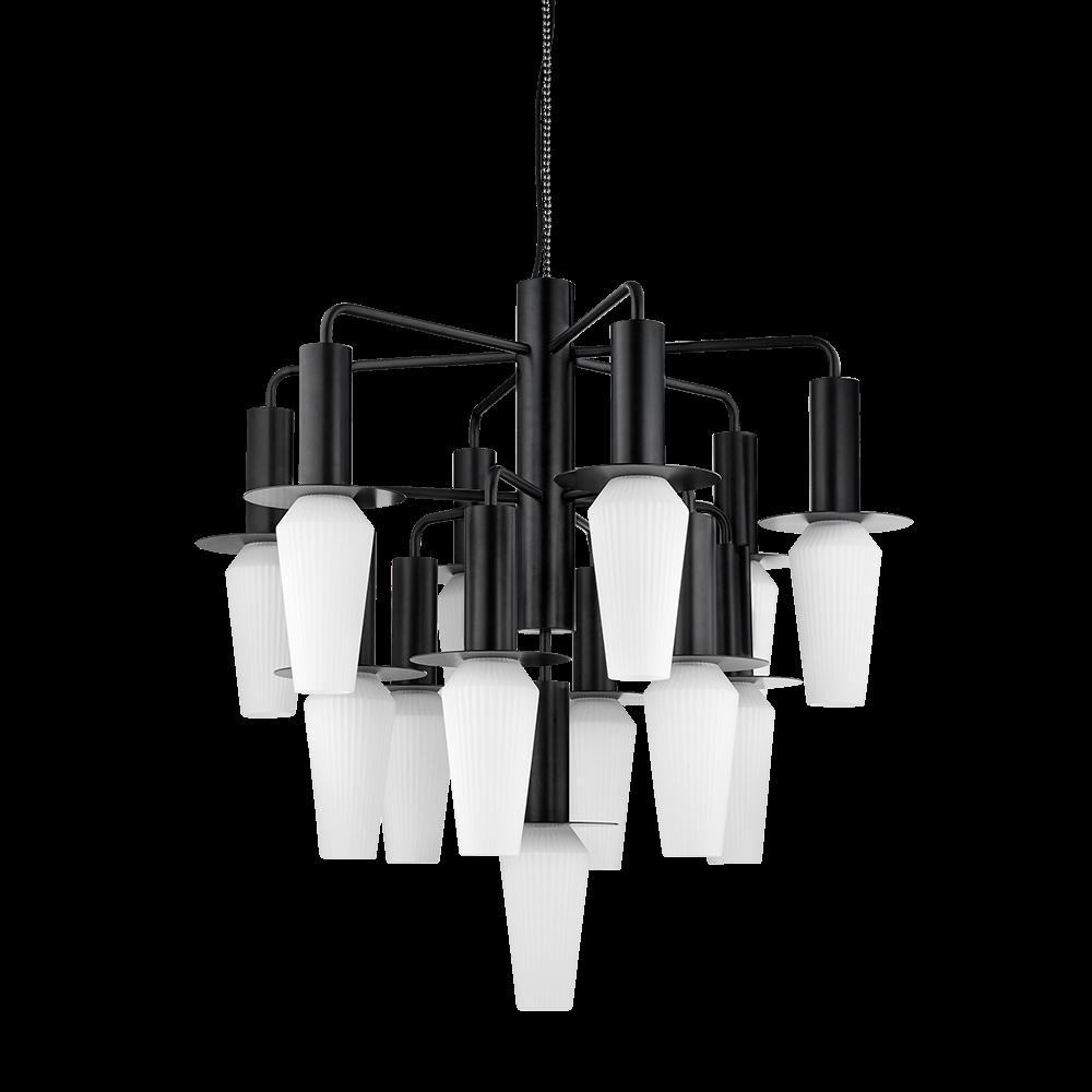 Harakiri Mini Lysekrone Black/Opal - Design By Us thumbnail