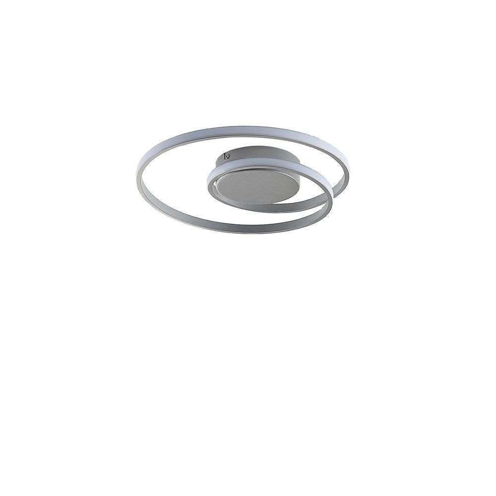Kyron LED Loftlampe Silver/Titanium – Lindby