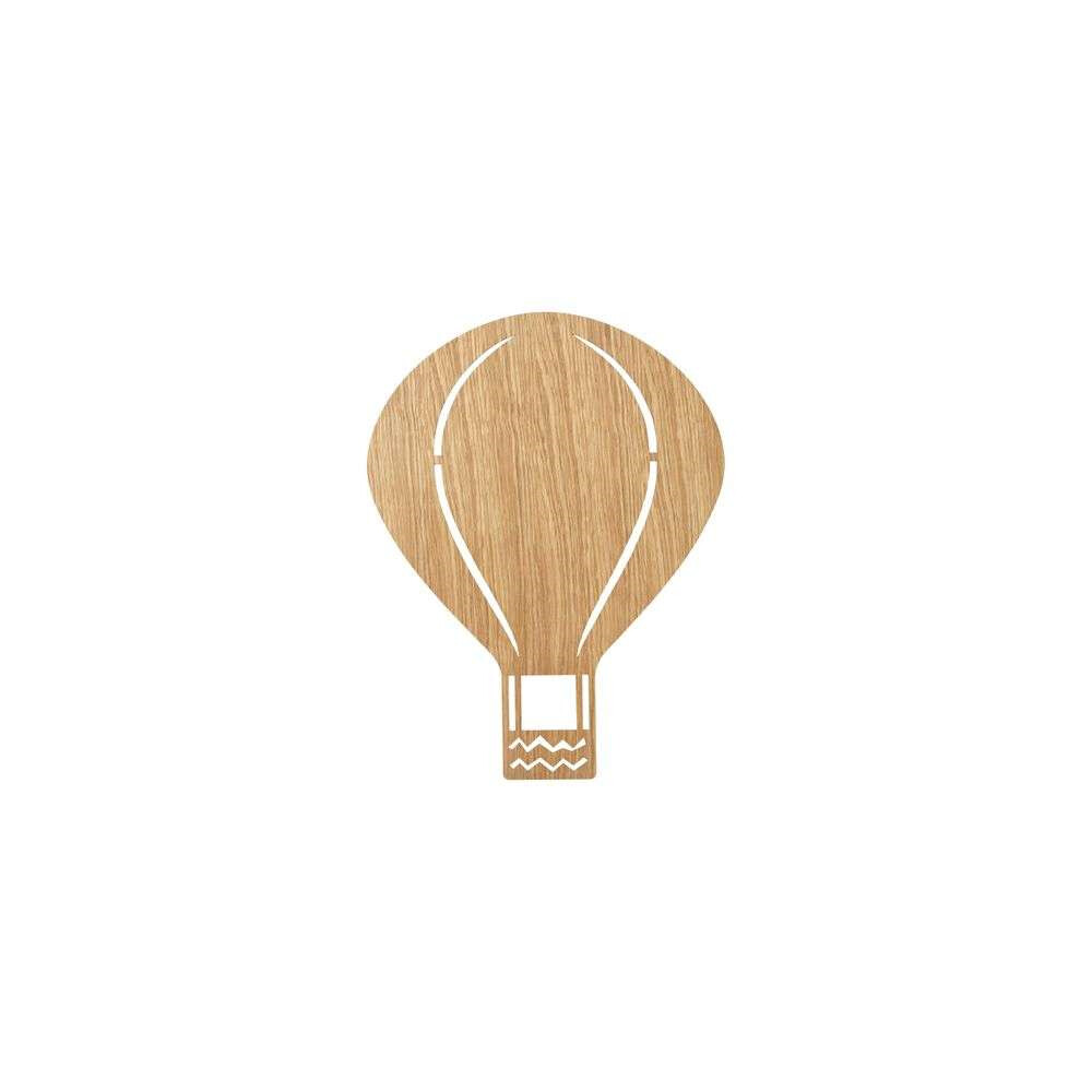 Image of Air Balloon Væglampe Oiled Oak - Ferm Living (15990575)