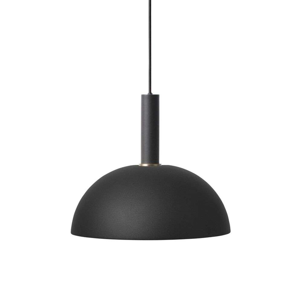 Image of Collect Pendel Dome High Black - Ferm Living (15998642)