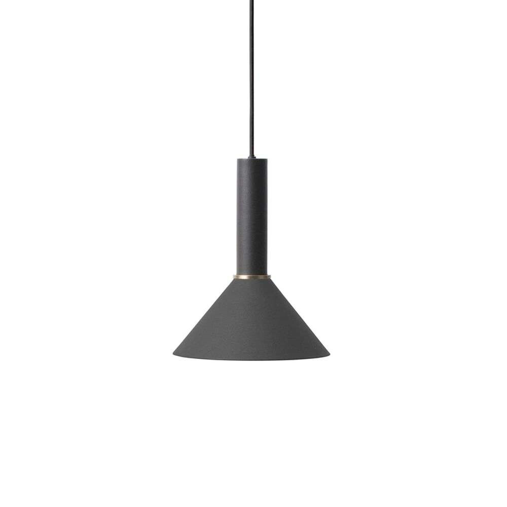 Image of Collect Pendel Cone High Black - Ferm Living (15998599)