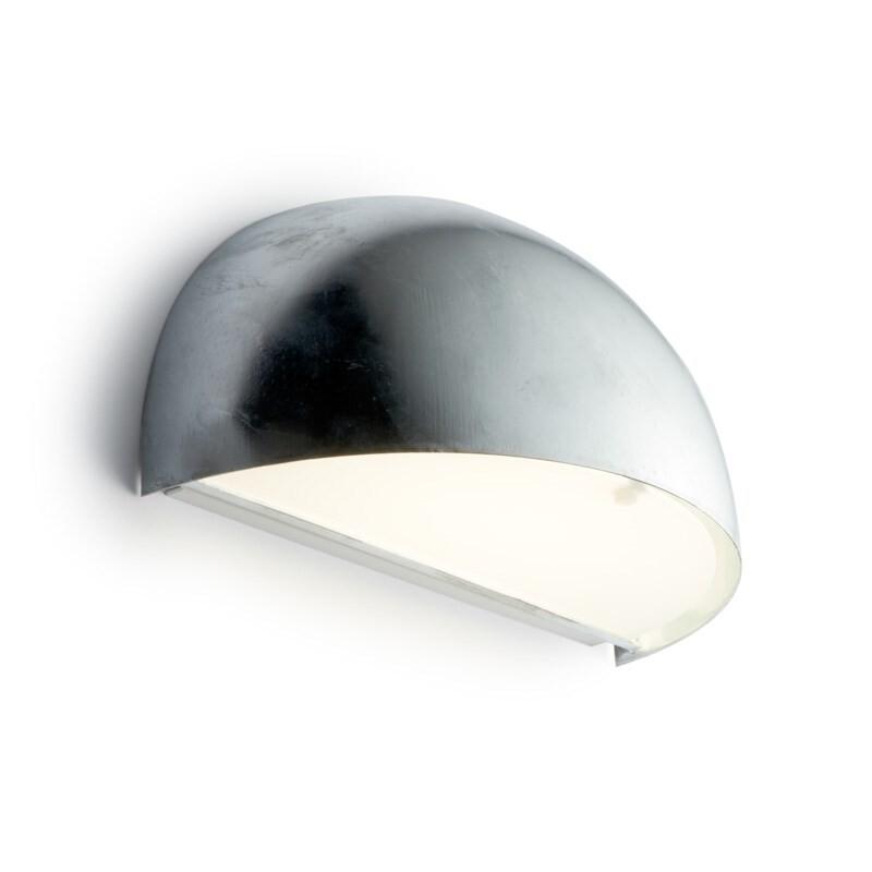 Rørhat Væglampe 10,5W LED Galvaniseret – LIGHT-POINT