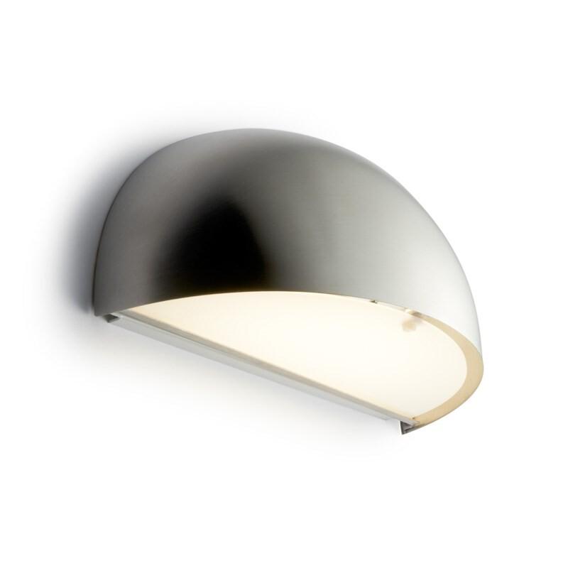 Rørhat Væglampe 10,5W LED Rustfrit stål – LIGHT-POINT