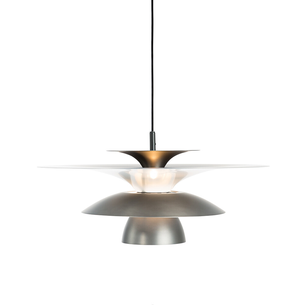 Picasso Pendel Oxidgrå Ø500 LED – Belid