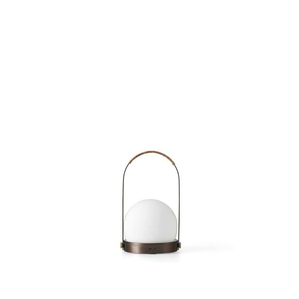 Carrie LED Bordlampe Bronzed Brass – Menu