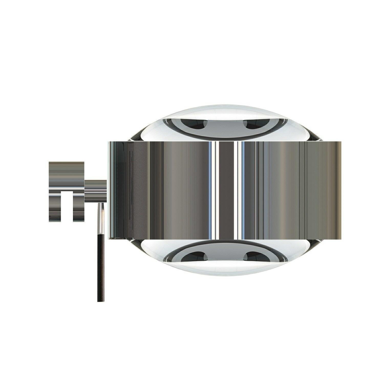 Puk Maxx Væglampe LED Lens + Lens Krom – Top Light