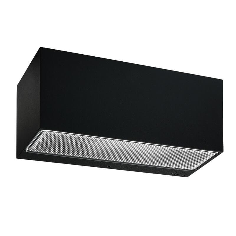 Asker LED Big Up/Down Udendørs Væglampe Sort – Norlys