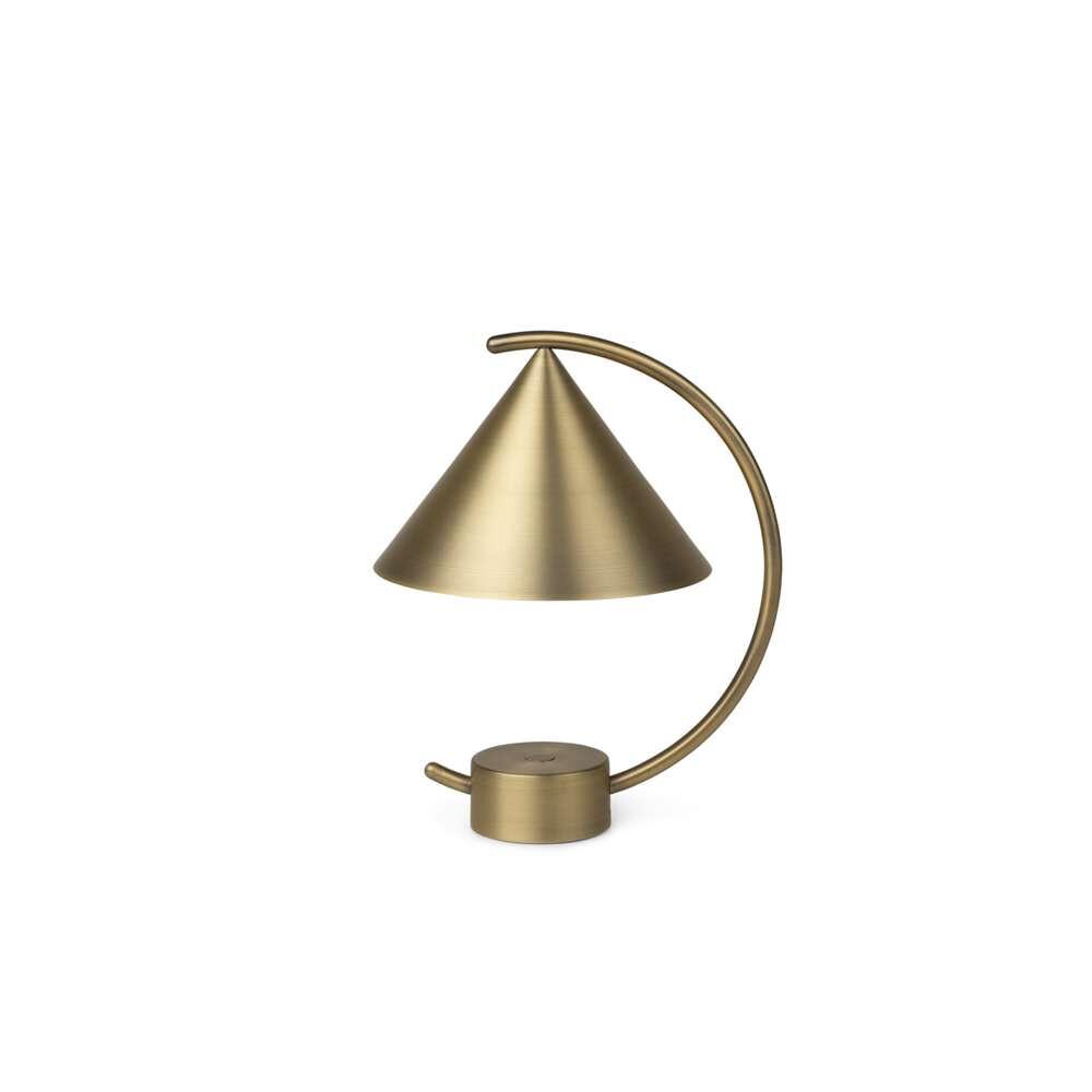 Image of Meridian ToGo Bordlampe Brass - Ferm Living (16424848)