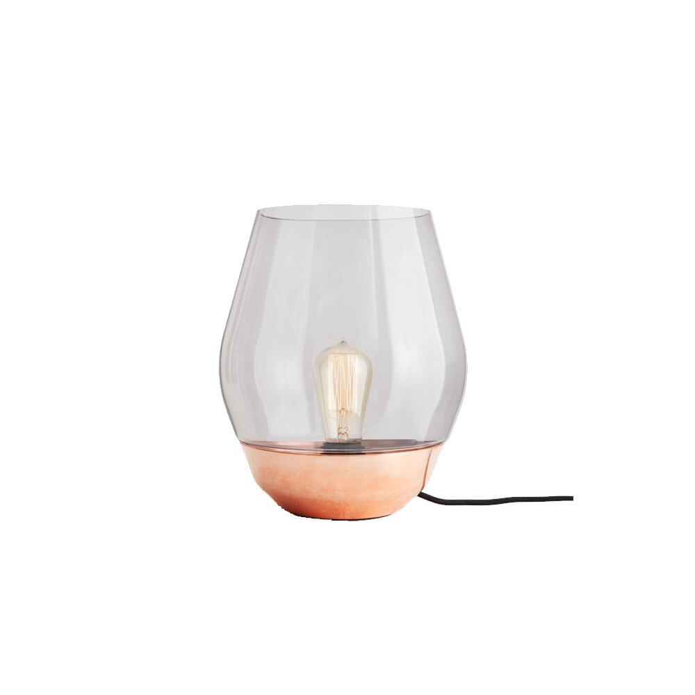 Bowl Bordlampe Raw Copper - New Works thumbnail