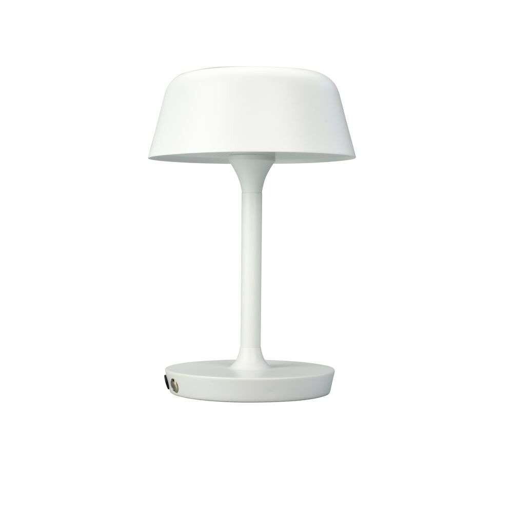 Valencia LED Bordlampe Matt White – DybergLarsen