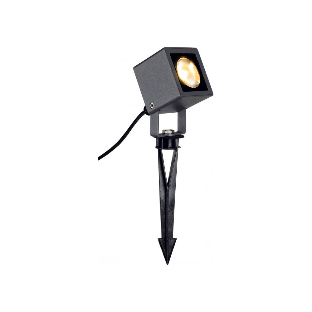 Nautiluz Square LED Udendørslampe Antracit – Lumiere