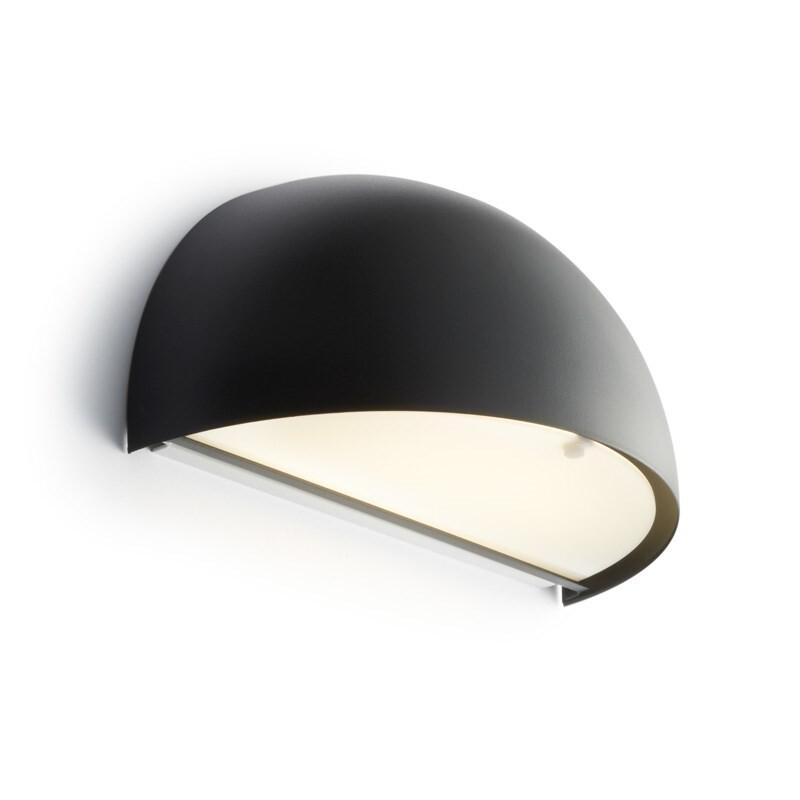 Rørhat Væglampe 10,5W LED Sort – LIGHT-POINT