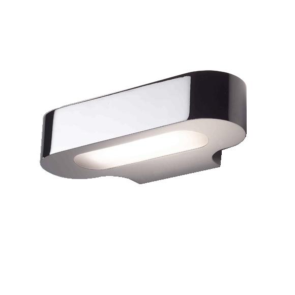 Talo LED 21 Væglampe Poleret Krom – Artemide