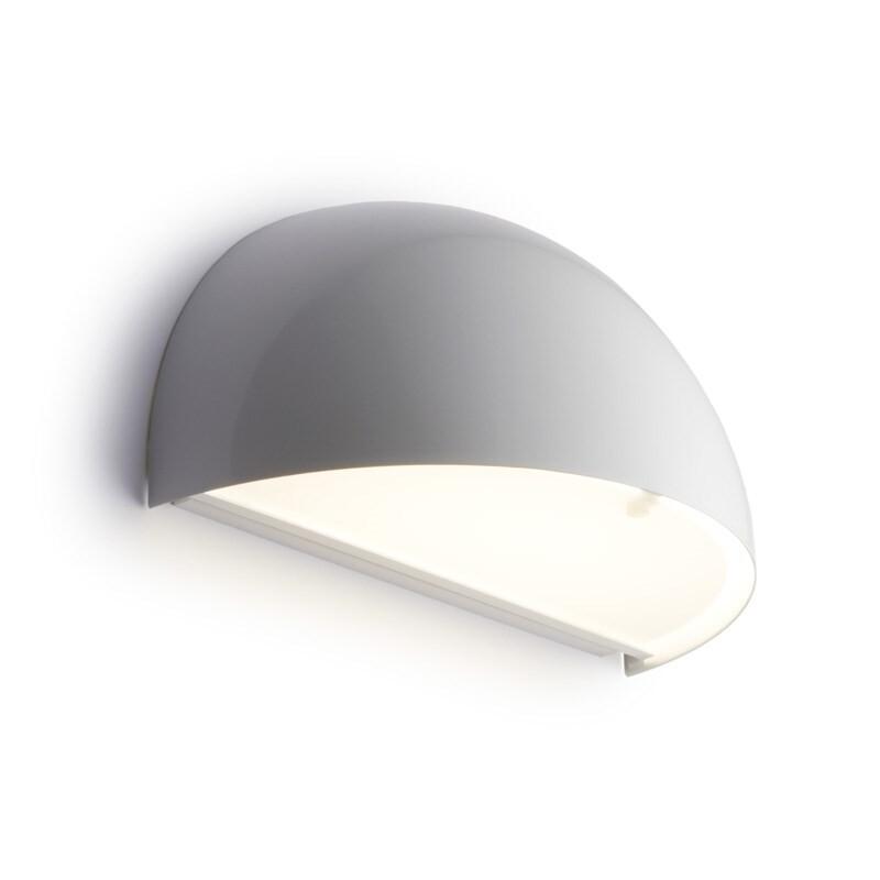 Rørhat Væglampe 10,5W LED Hvid – LIGHT-POINT