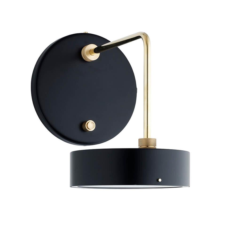 Petite Machine Væglampe Deep Black - Made By Hand thumbnail