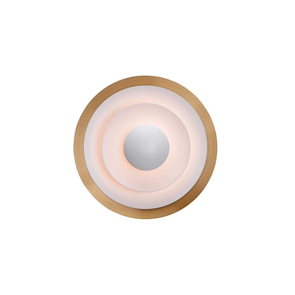 Diablo Væglampe LED Ø300 Messing – Belid