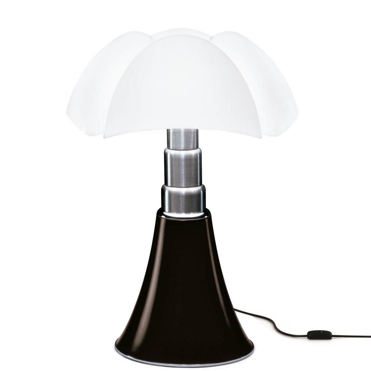 Image of Pipistrello Bordlampe LED Mørk Brun - Martinelli Luce (12697929)