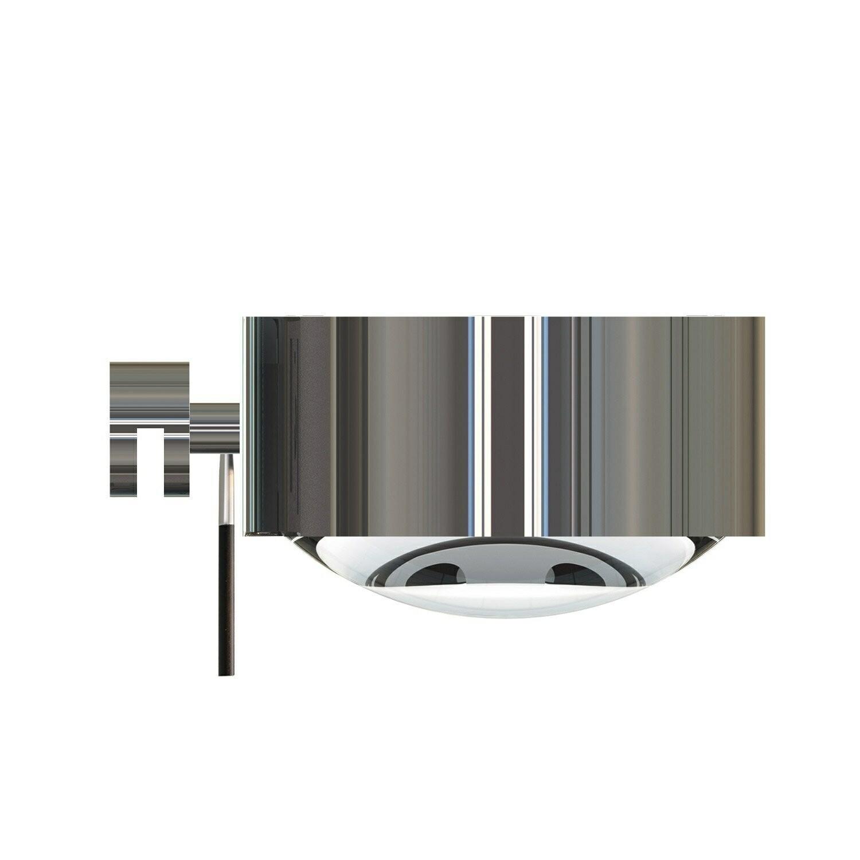 Puk Maxx Væglampe LED Lens + Glass Krom – Top Light