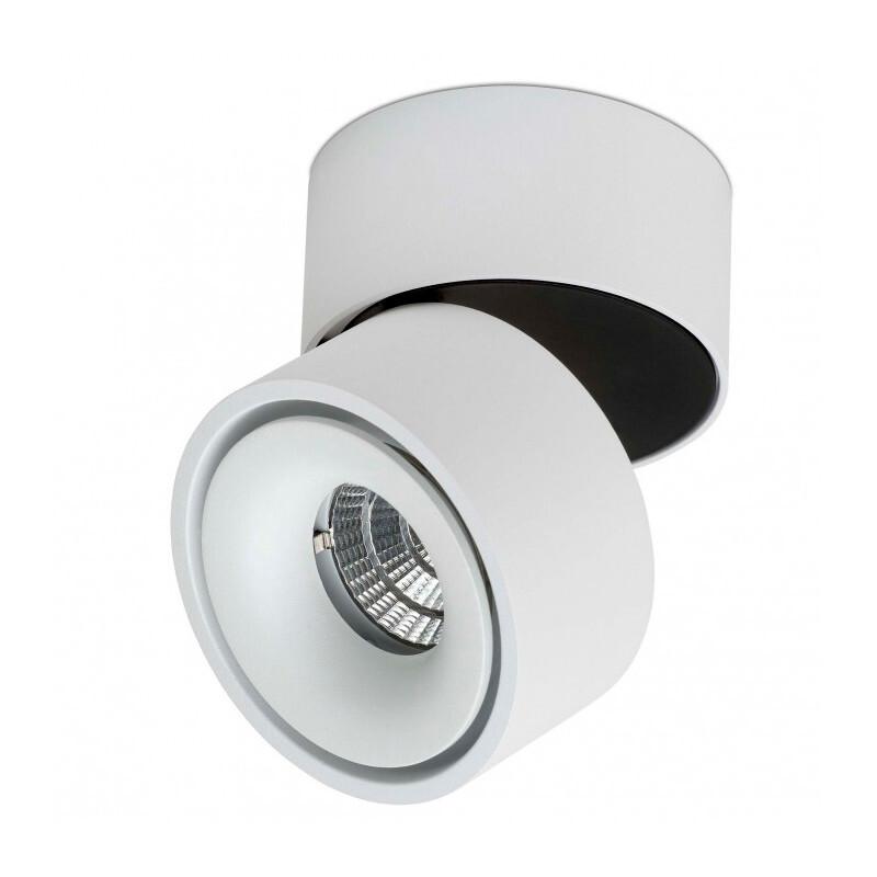 Easy W75 LED Påbygningsspot m/Kabelhul 7W Hvid – ANTIDARK