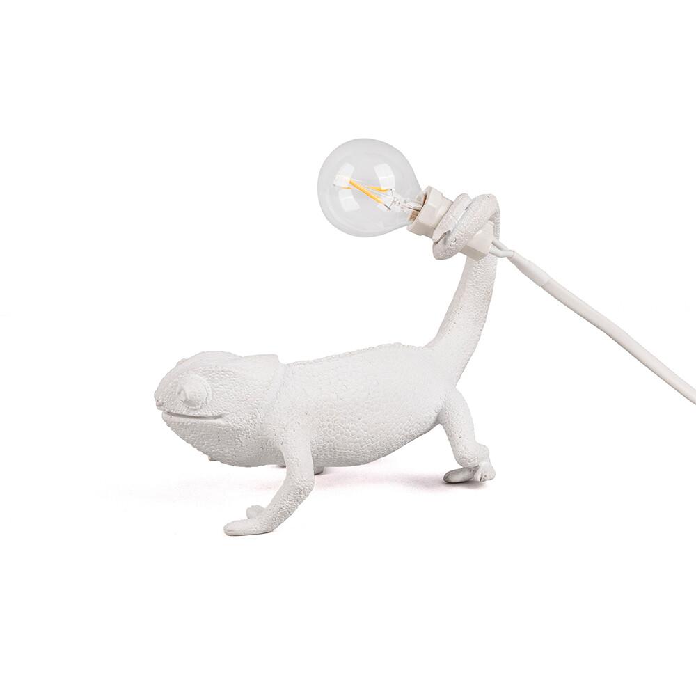 Chameleon Still Bordlampe Hvid - Seletti