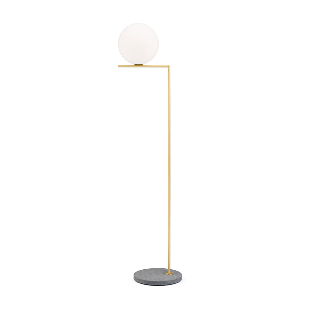 IC F2 Outdoor Brass (Grey Lava Marble) - Flos thumbnail