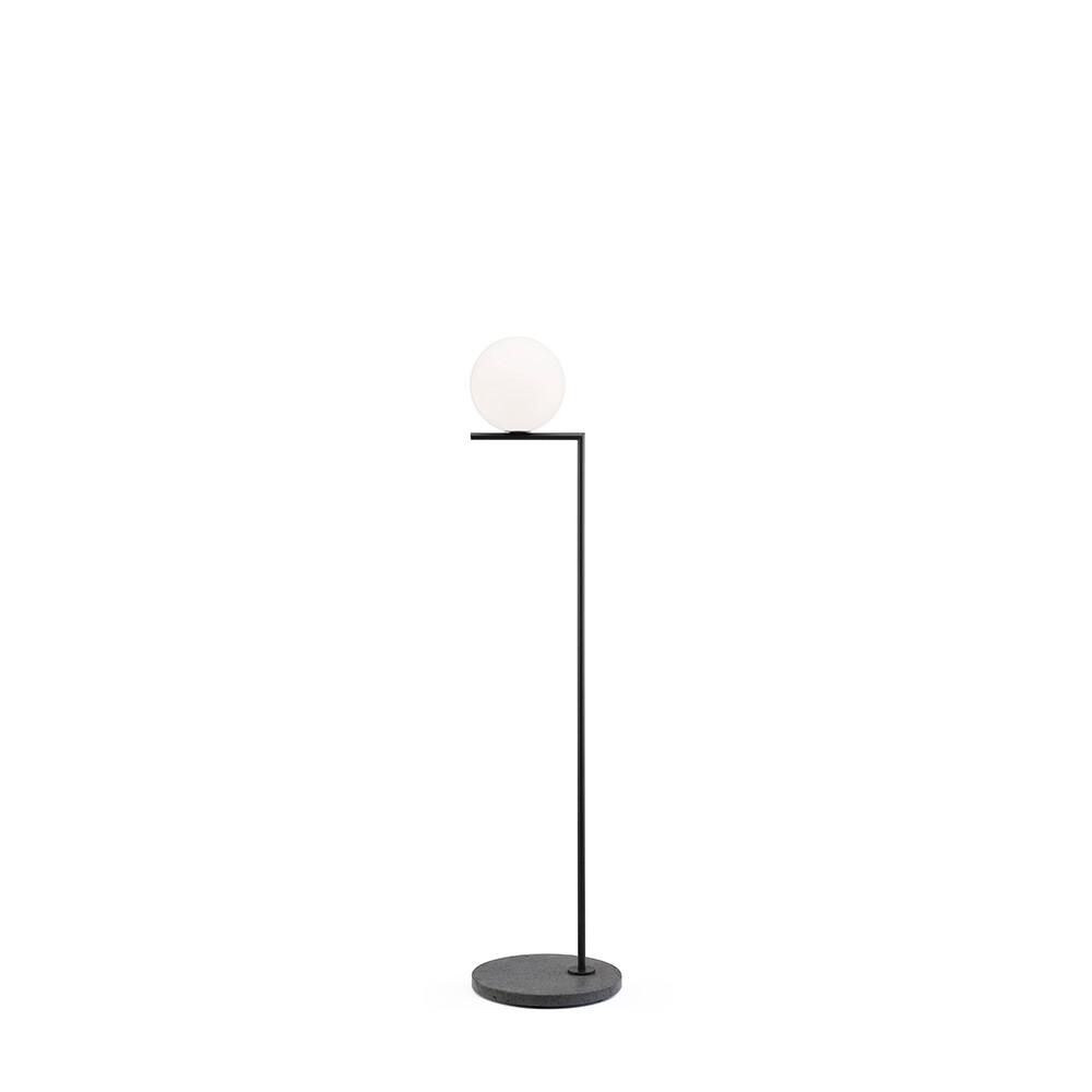 Image of IC F1 Outdoor Black (Black Lava Marble) - Flos (15735253)
