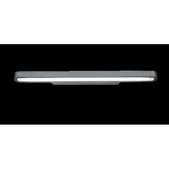 Talo LED 120 Væglampe Sølvgrå – Artemide