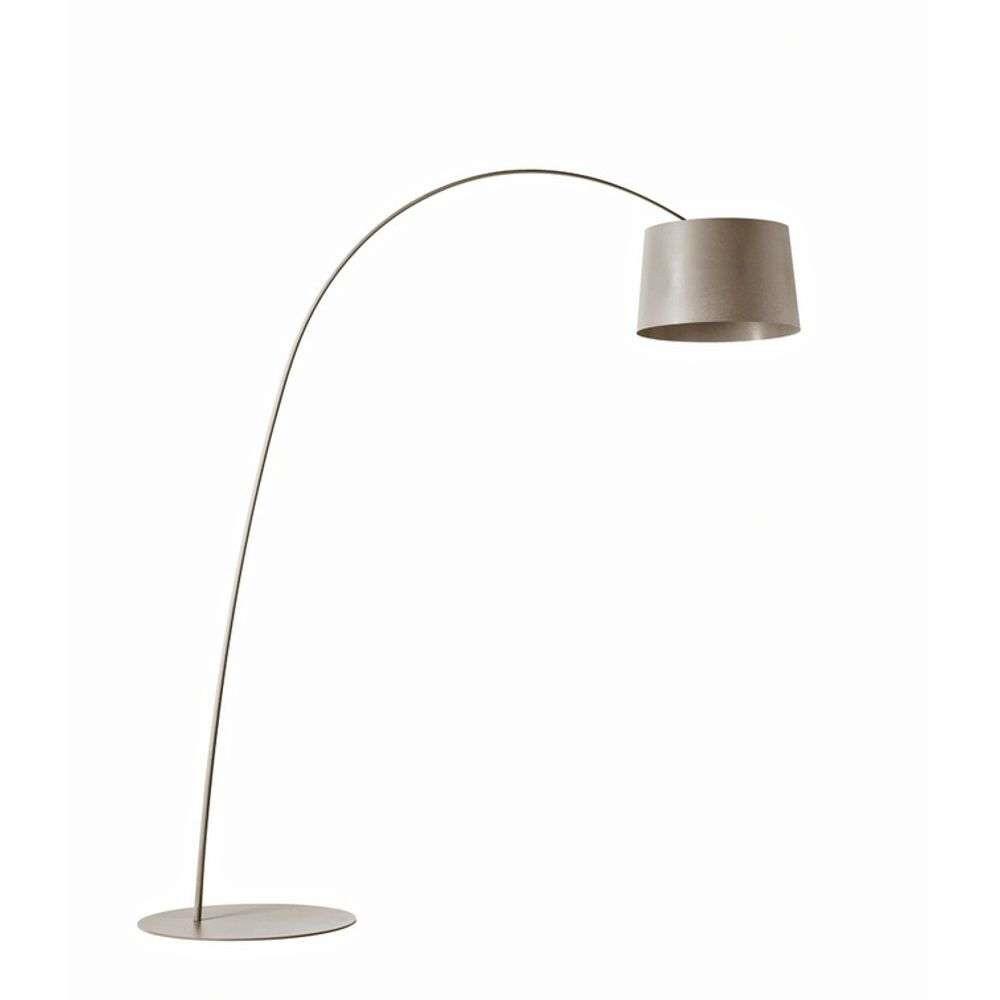 Twiggy LED Gulvlampe Grå – Foscarini