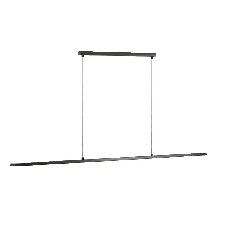 Slim S1500 LED 3000K Pendel Sort – LIGHT-POINT
