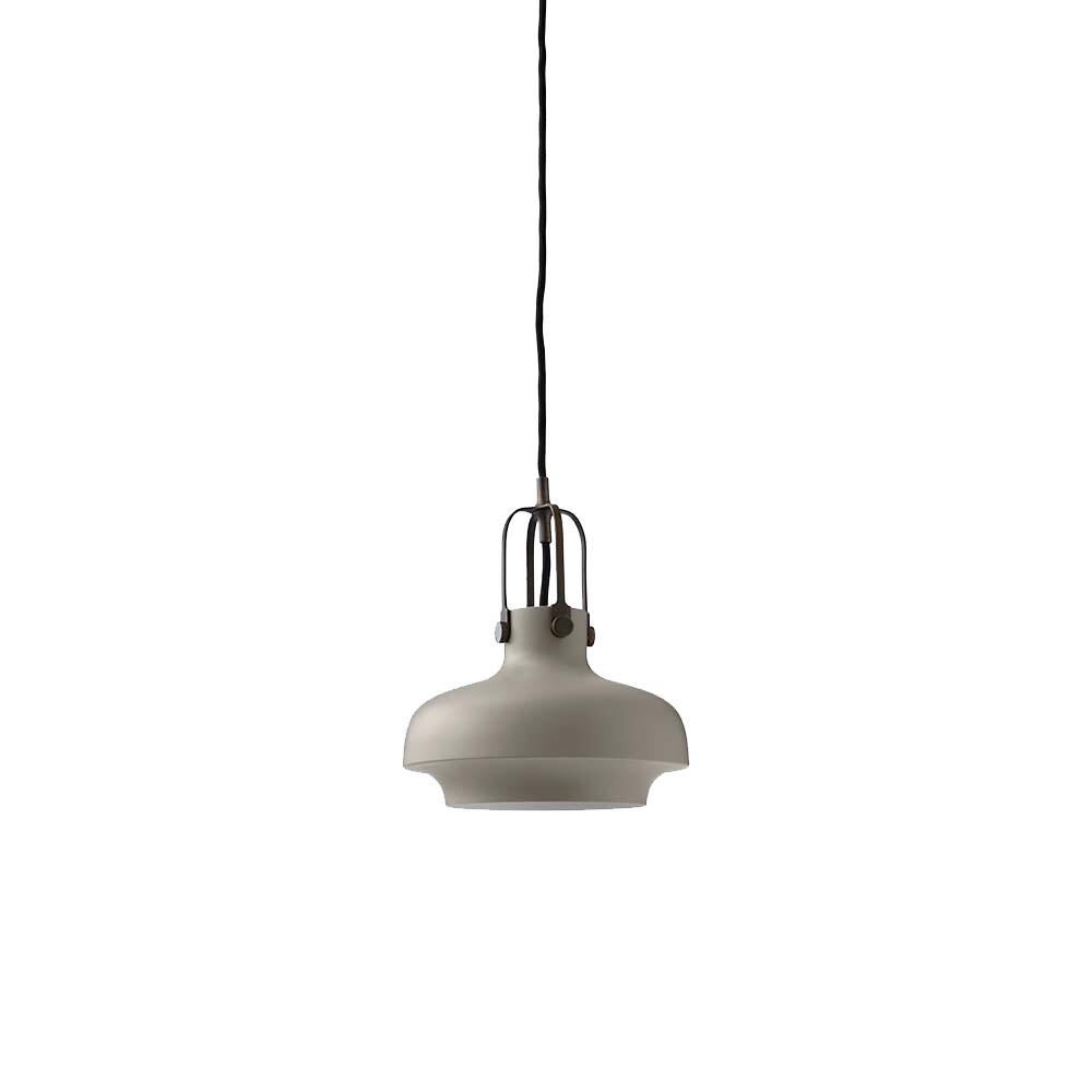 Copenhagen Pendel SC6 Matt Stone Grey/Bronzed Brass - &tradition