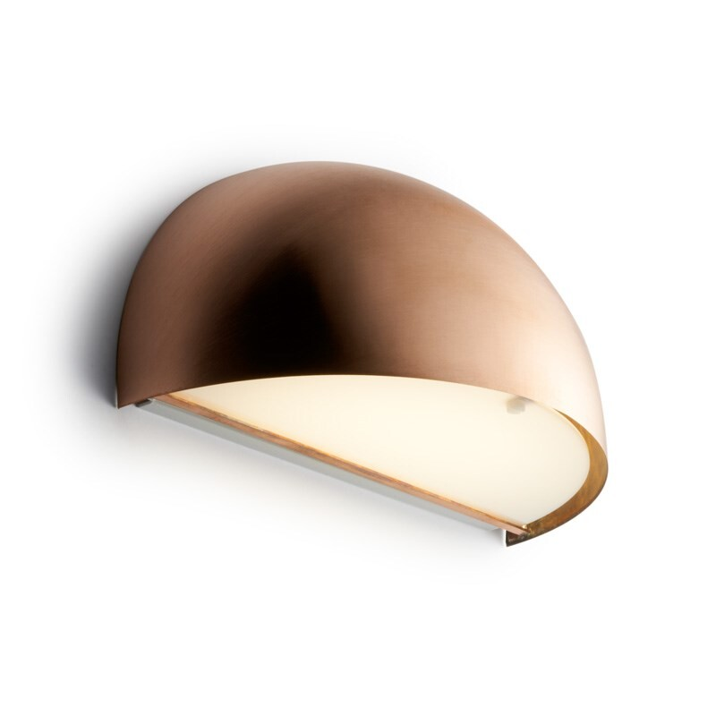 Rørhat Væglampe 10,5W LED Rå Kobber – LIGHT-POINT