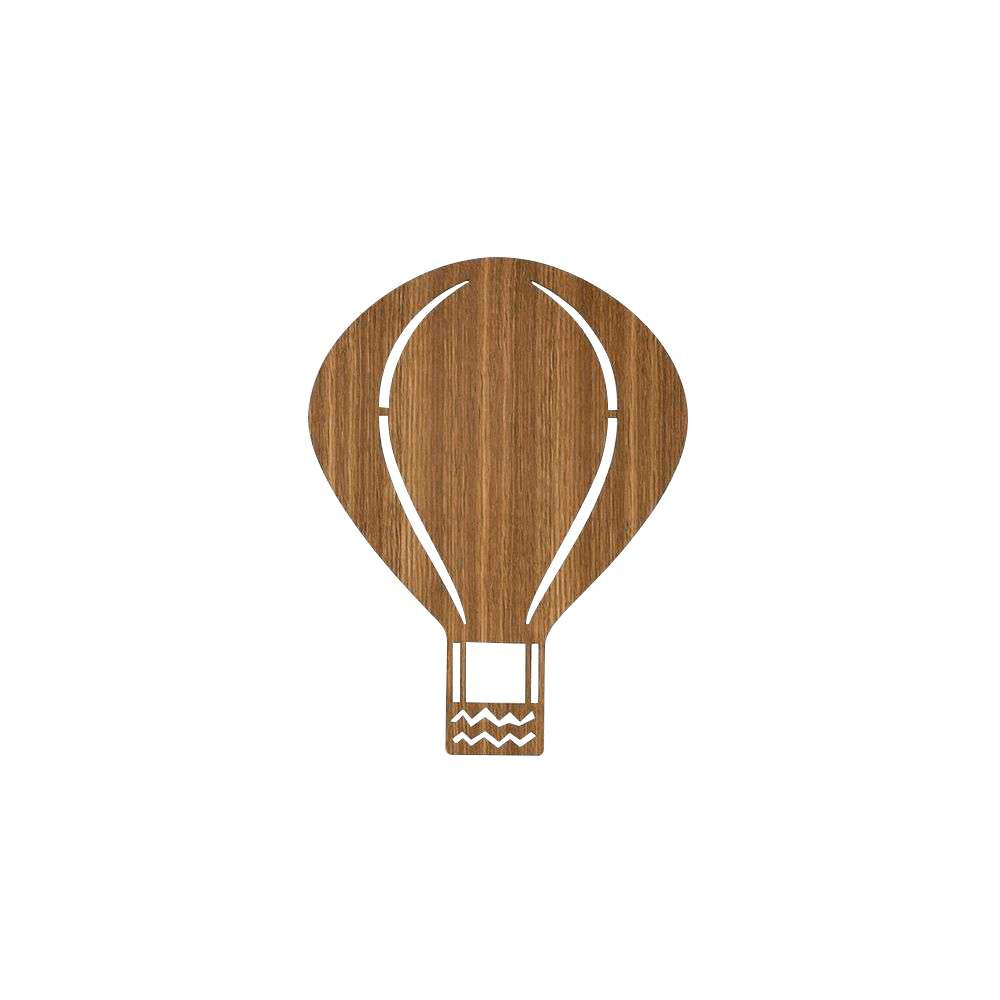Image of Air Balloon Væglampe Smoked Oak - Ferm Living (15990586)