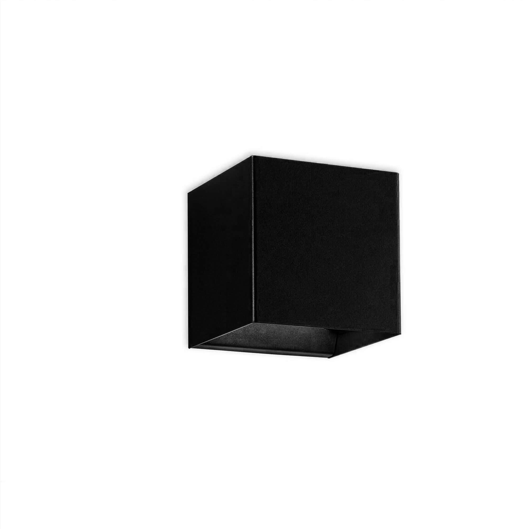 Billede af Laser Cube Væglampe Sort - Studio Italia Design