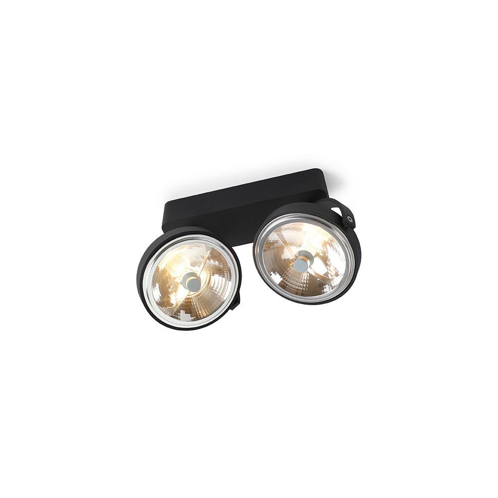 Pin-Up 2 Loftlampe Sort - Trizo21 thumbnail
