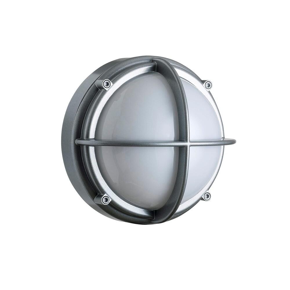 Skot Loftlampe LED Opal/Alu – Louis Poulsen