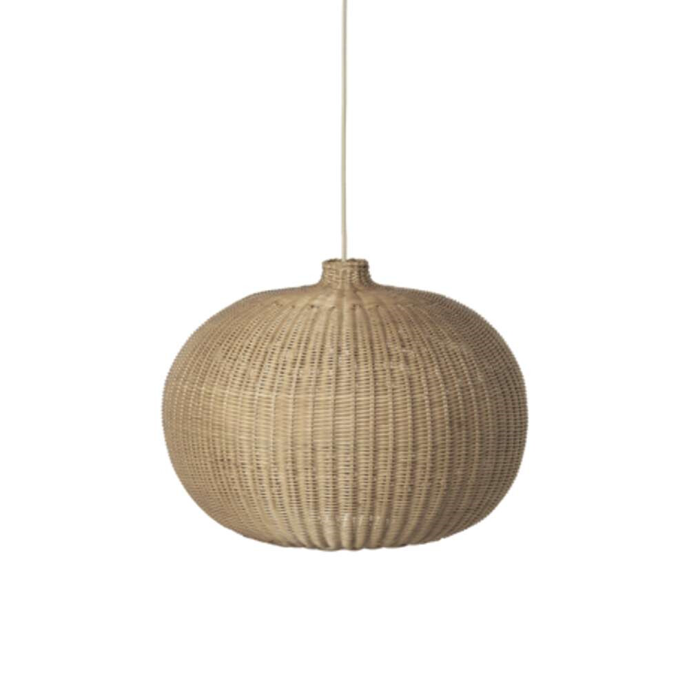 Image of Braided Pendel Belly Natural - Ferm Living (15990582)
