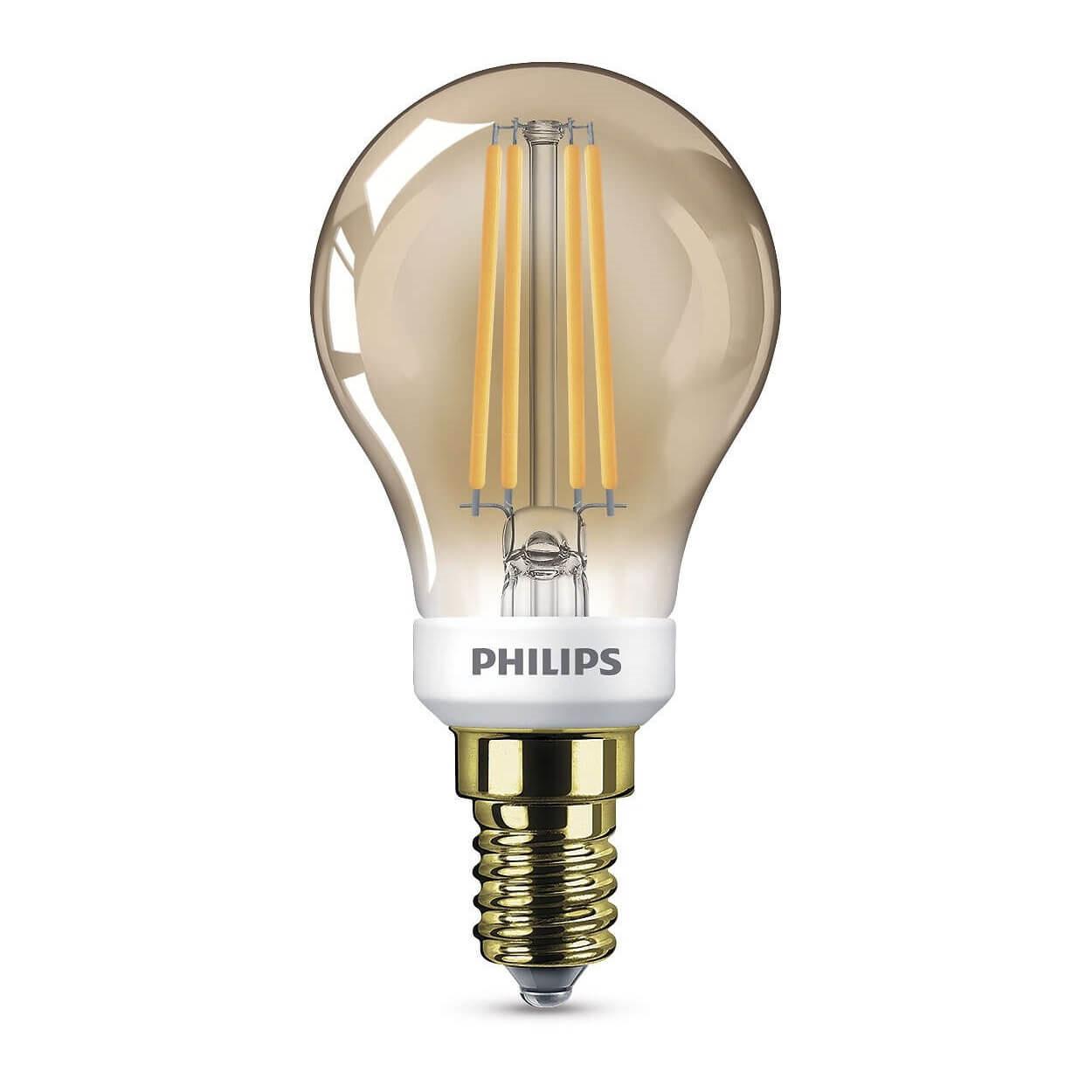 Pære LED 3W Classic Krone (410lm) Dæmpbar E14 - Philips thumbnail