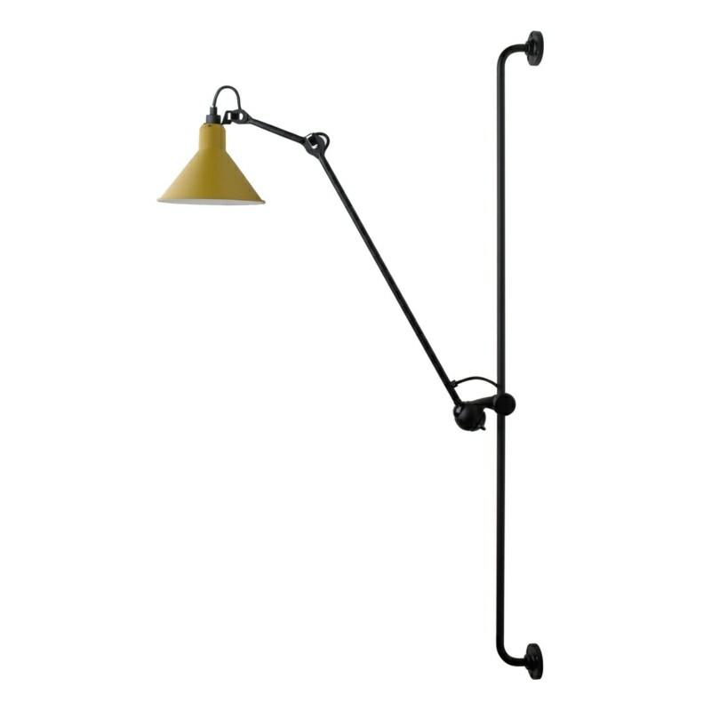214 Væglampe Gul - Lampe Gras thumbnail
