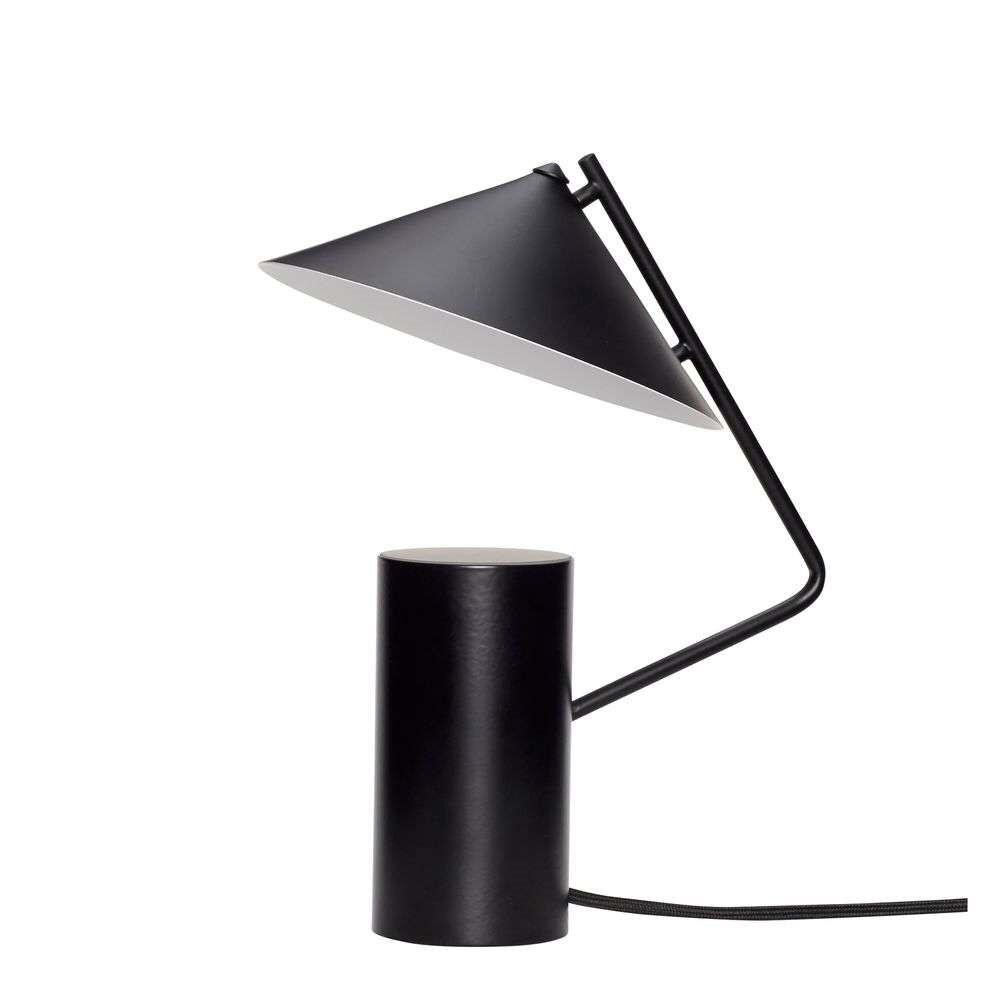 Image of Bordlampe Geometric Black - Hübsch (15980360)