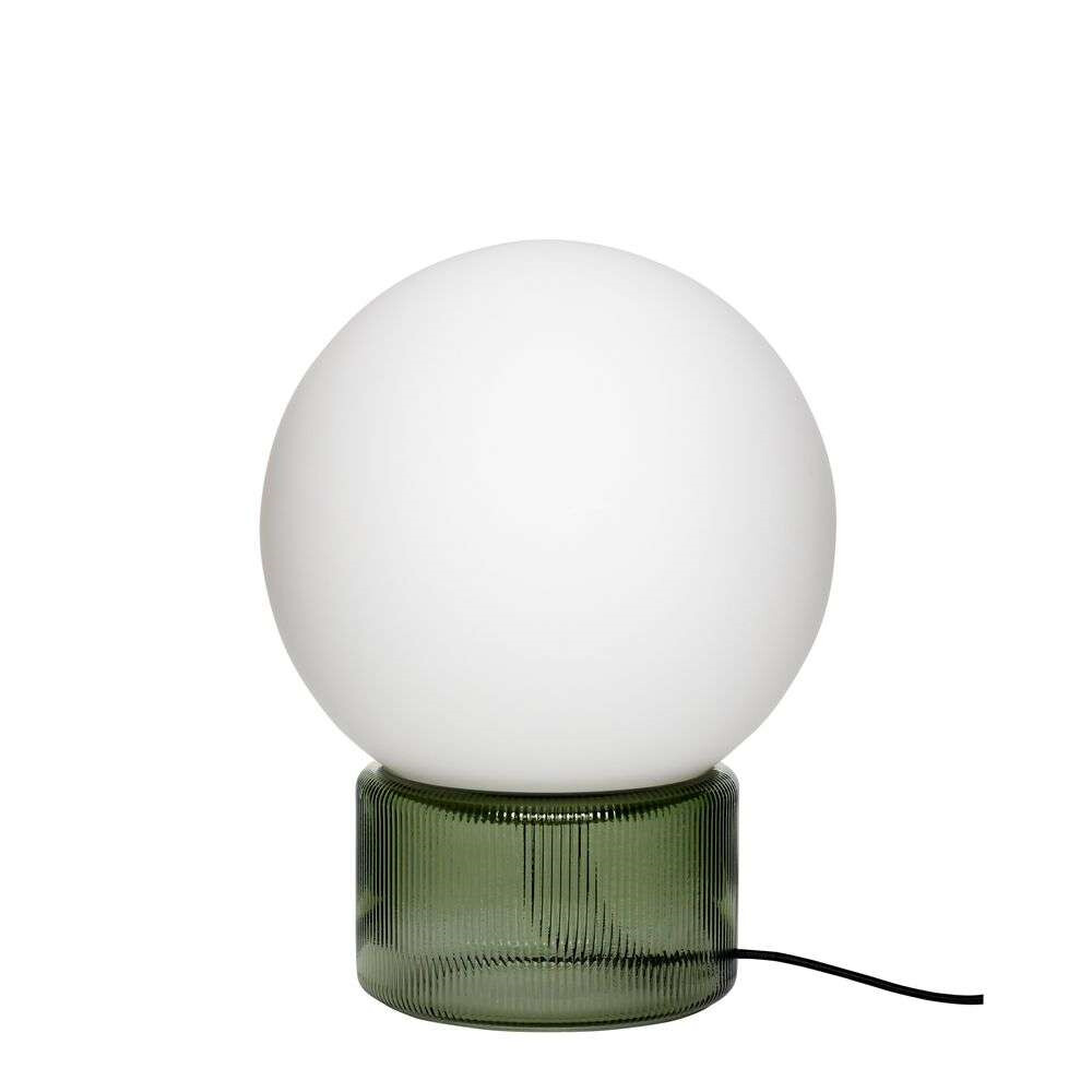 Image of Bordlampe Green/Opal - Hübsch (15980359)