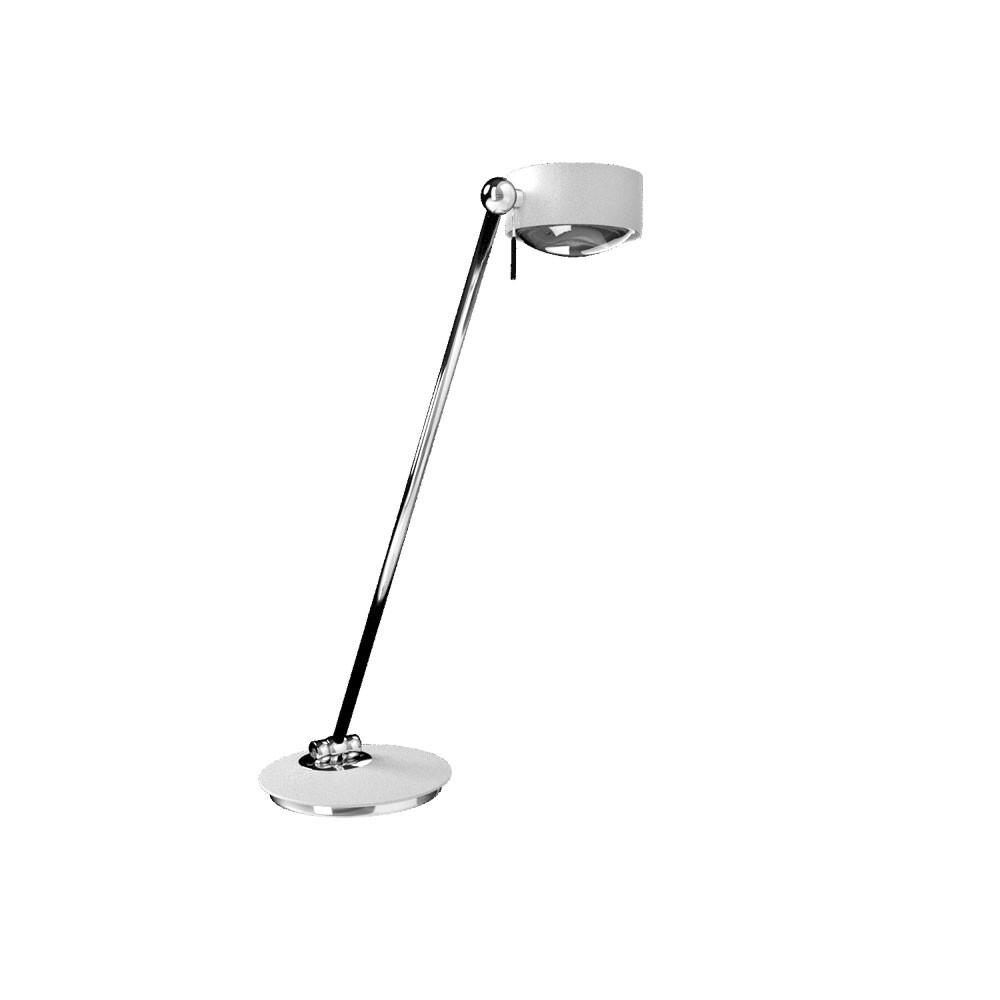 Puk Maxx Single LED Bordlampe Hvid – Top Light