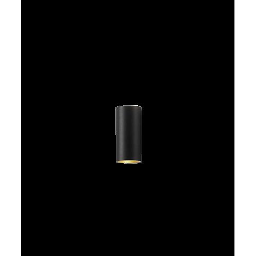 Zero W1 LED 3000K Væglampe Sort/Guld – LIGHT-POINT
