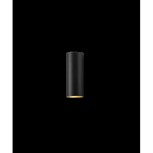 Zero W2 LED 3000K Væglampe Sort/Guld – LIGHT-POINT