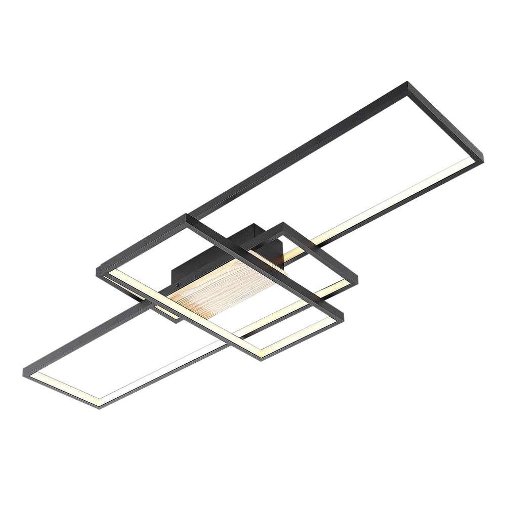 Emiljan LED Loftlampe Matt Black – Lindby